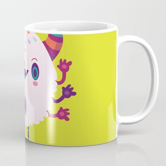 Puffy monster Mug