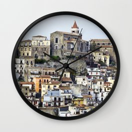 Urban Landscape - Cathedrale - Sicily - Italy Wall Clock