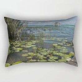 Lagoon, Bacalar Rectangular Pillow
