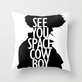 Cowbow Bebop - See You Space Cowboy 2 Throw Pillow