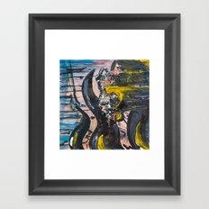 A.E  Framed Art Print