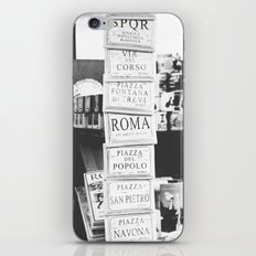 Art tiles in Rome iPhone & iPod Skin