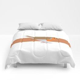 Robin vector illustration (2/2) Comforters