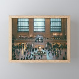 The Amazing Grand Central Station II Framed Mini Art Print