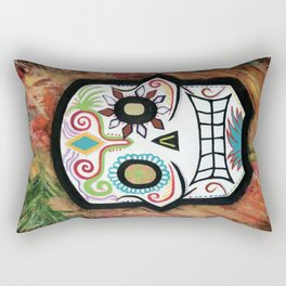 Sugar Skull: LOVE Rectangular Pillow
