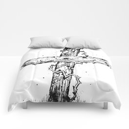 The Old Rugged Cross Comforters