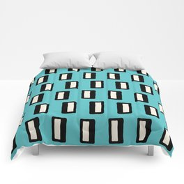 Chad Pattern Turquoise 2 Comforters