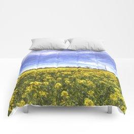 English Summer Farm Art Comforters