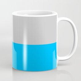 2-Tone Blue Coffee Mug