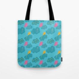 kites - blue Tote Bag