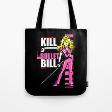 Kill Bullet Bill (Black/Magenta Variant) Tote Bag