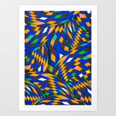 Wild Energy Art Print