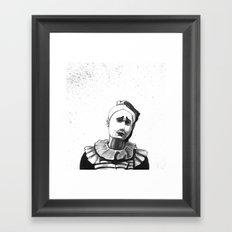 Mime  Framed Art Print