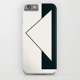 Triangular Imposition 1 iPhone Case