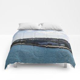 Bahamas Cruise Series 92 Comforters