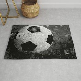 Unique soccer art vs 1 urban art Rug
