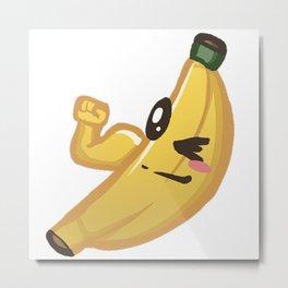 Banana Flex Metal Print