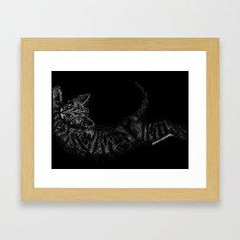 "Inktober, Day 26 ""Stretch"" #inktober #inktober2018 Framed Art Print"