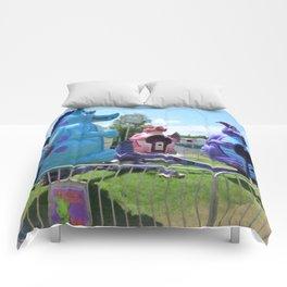 Dizzy Dragon Ride 2 Comforters