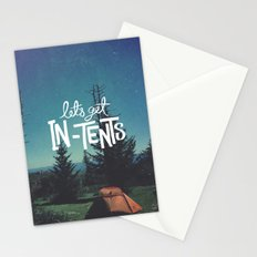 Let's Get In-Tents Stationery Cards