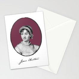 Authors - Jane Austen Stationery Cards