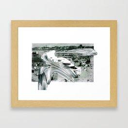 'Decline' Framed Art Print