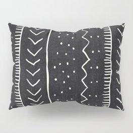 Moroccan Stripe in Black and White Pillow Sham