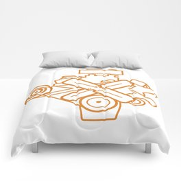 273 Commando - Engine Outline Comforters