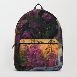 Deer skull in Fireweed Backpack