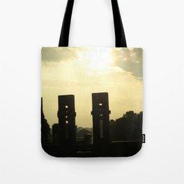 Sunset Memorial Tote Bag
