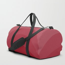 Four Shades of Red Curved Duffle Bag