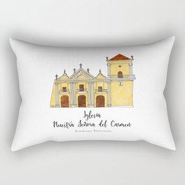 Iglesia del Carmen Rectangular Pillow