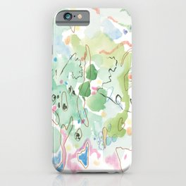 Green Pike iPhone Case