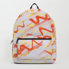 Ketchup and Mustard Backpack