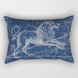 Leo sky star map Rectangular Pillow