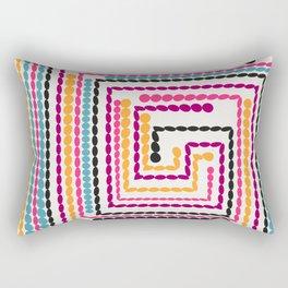 Bead maze Rectangular Pillow