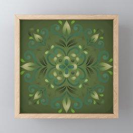 Green Romance Framed Mini Art Print