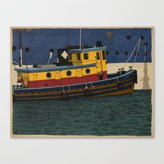 Tug Canvas Print