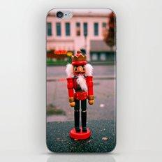 Sidewalk nutcracker iPhone & iPod Skin