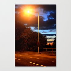 Manmade and nature. Canvas Print