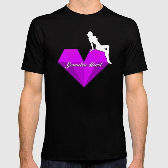 GEOMETRIC HEART® - Purple Special Edition -  T-shirt