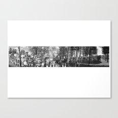 Watson Lake Black and White Canvas Print