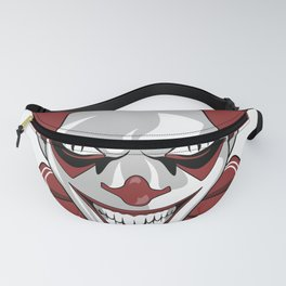 Clown Wicked Common Came creepy horror gift Fanny Pack