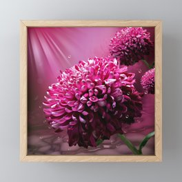 Majestic Flowers Framed Mini Art Print