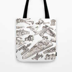 SW Rough Pastels Tote Bag