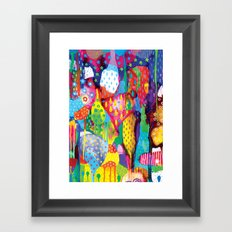 The Art Forest Framed Art Print