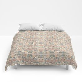 Anna's Cottage Pattern Print Design Comforters