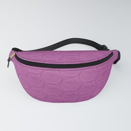 Rose Turtle Shell Fanny Pack