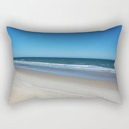 The Beach Awaits You Rectangular Pillow