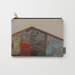Reclaimed Wood House 11 Sculpture by Annalisa Ramondino Carry-All Pouch